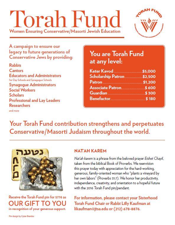 Torahfundflyer2015