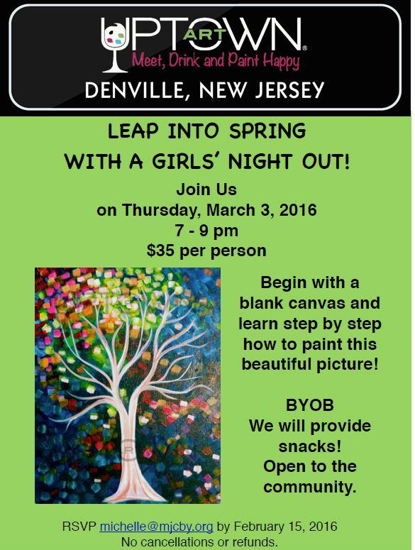 Uptown Art Calendar Denville Nj : Morristown jewish center beit yisrael leap into spring